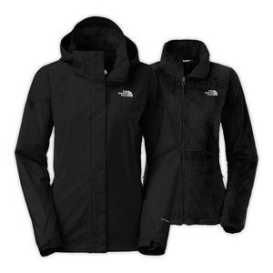 The North Face Boundary Triclimate Jacket Black SP